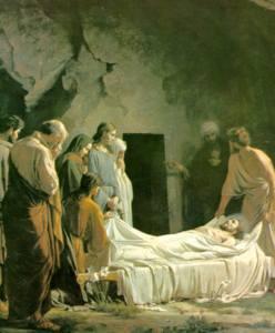 COV NTSIAB LUS NYOB HAUV ZAJ KUV NTSEEG Jesustomb
