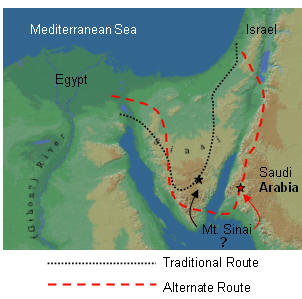 desert of paran map Islamic Apologetics By Ehteshaam Gulam Mt Sinani And Paran Are desert of paran map